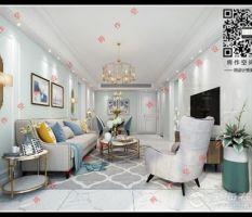 【将作空间设计】——凤凰城美式轻奢风格