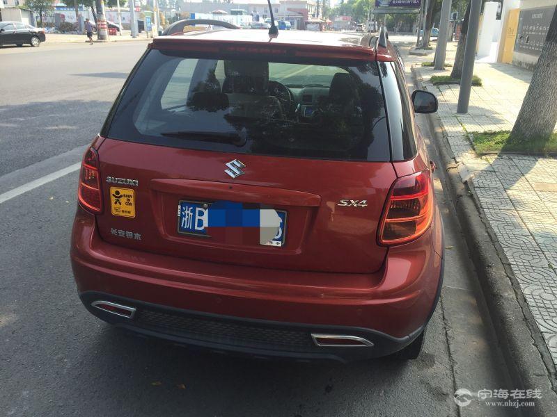 铃木天语SX4两箱 红 4.25个人车寄卖高清图片