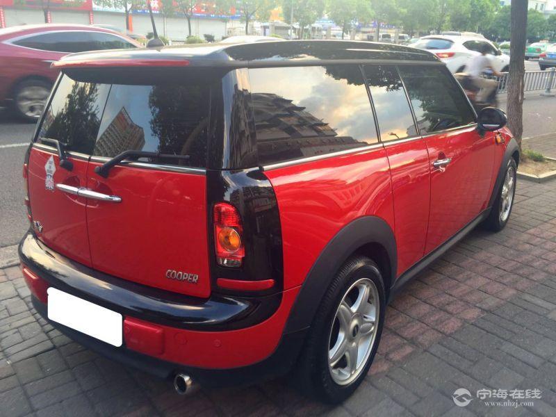 宝马mini迷你五门版高配 红色 个人车 喜欢别错过 可按揭 12.39w