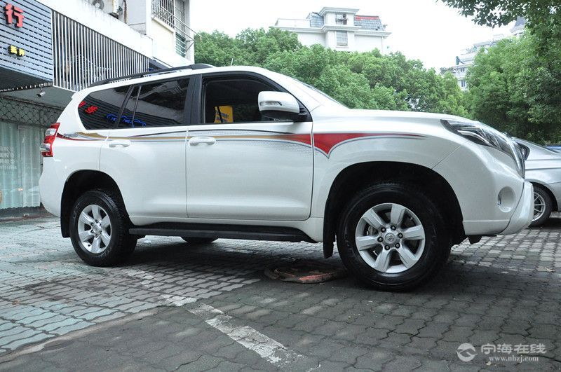 丰田霸道2.7 进口一手精品车 白色图片