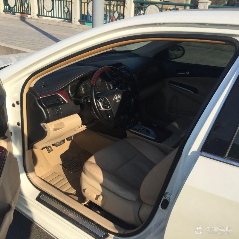丰田凯美瑞 珍珠白 个人车 喜欢别错过 可按揭 13.12w