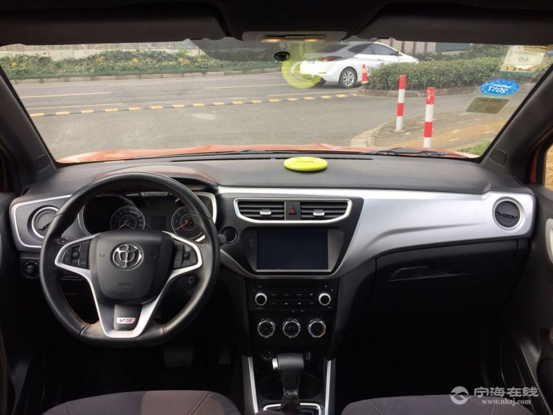 中华中华V3长安CS35 棕色 二手车交易高清图片