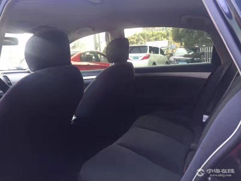 出售尼桑轩逸准新车1.6自动挡 黑色