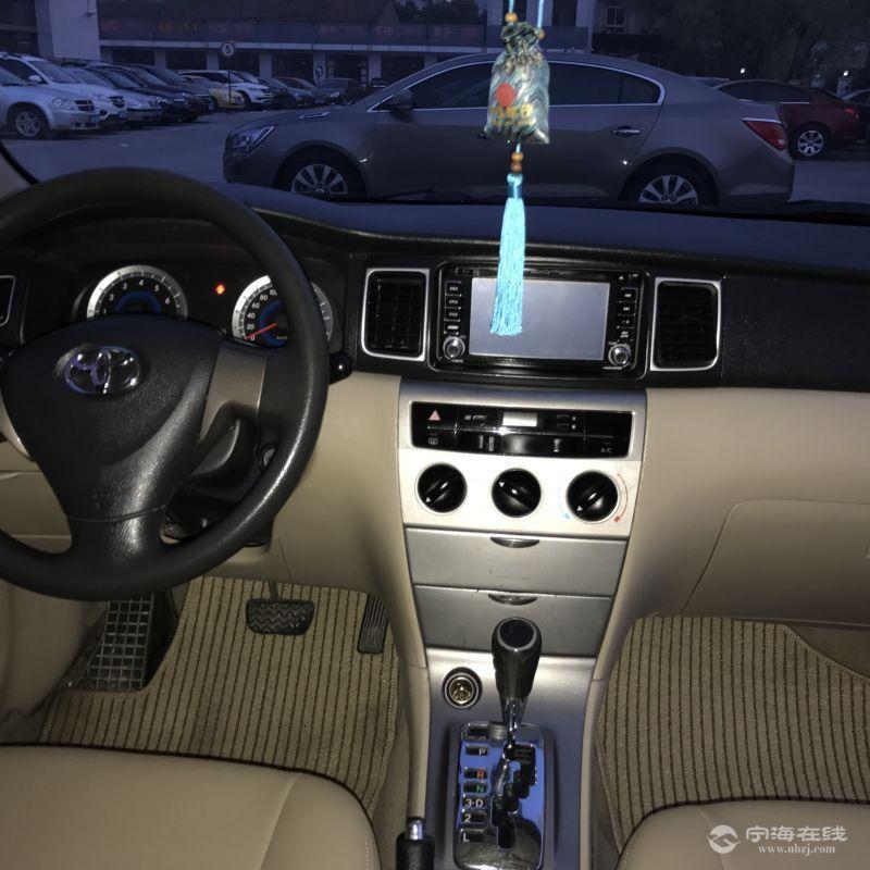 出售丰田花冠1.6自动挡高配 白色