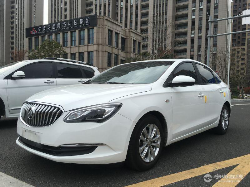 别克英朗gt1.5【新款】 白色 个人车 喜欢别错过 可按揭 8.23w