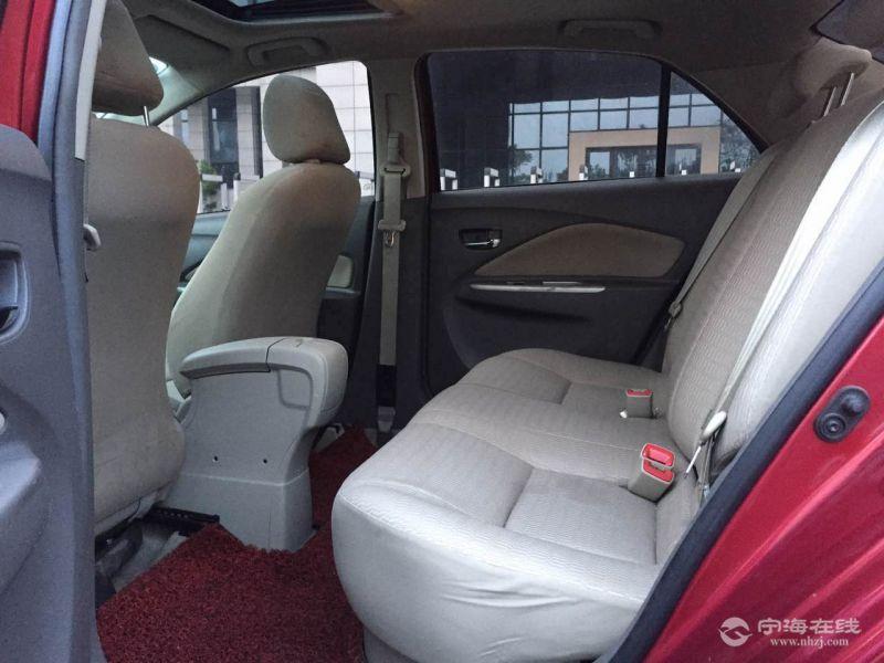 丰田威驰 自动挡 红色高清图片