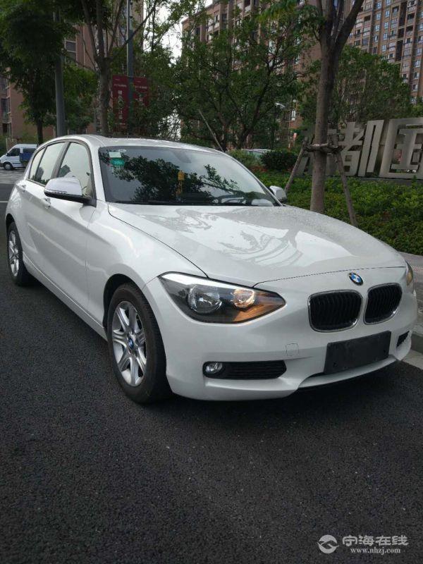 出售宝马116i新款进口 白色