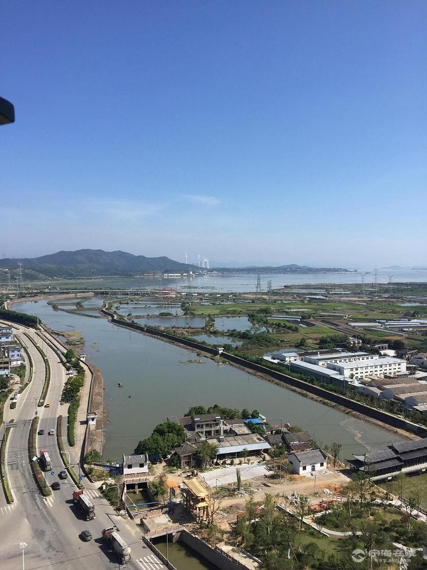 宁海湾 颜公河 黄墩公园在建.JPG