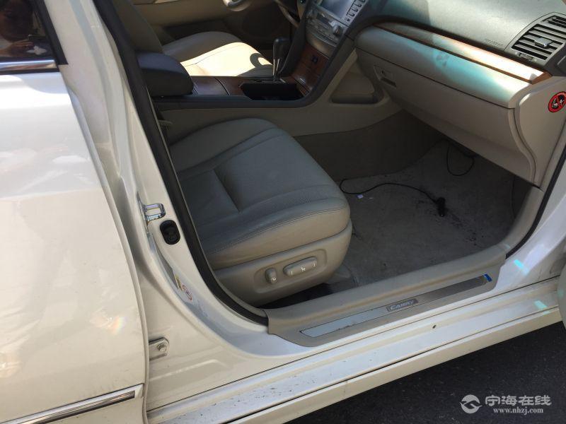 出售丰田凯美瑞2.4g豪华导航版 珍珠白