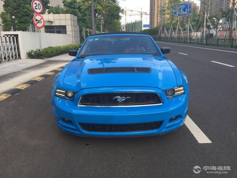 00万 排放标准:国五 燃 料:汽油 车况说明:福特野马gt3.