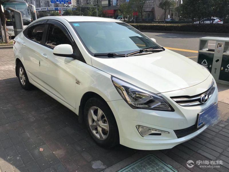 现代瑞纳1.4at 自动挡 白色 急卖 急卖¥6.3万