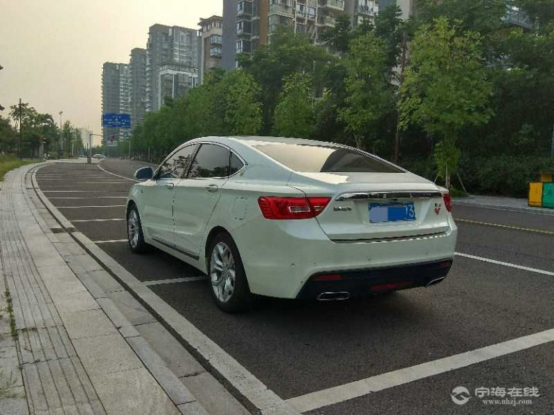 吉利吉利博瑞旗舰版 白色 精品私家车寄卖支持按揭和检测