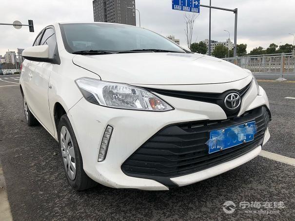 丰田威驰新款 白色2017年1月