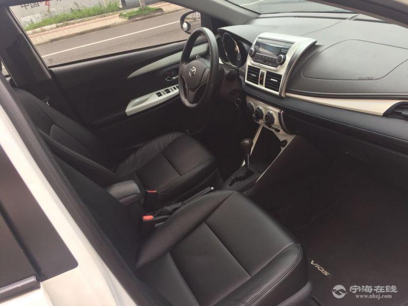 丰田威驰1.5自动挡 白色 - 二手车交易 - 宁海在线