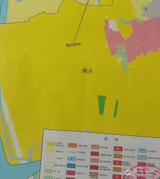 黄色全部是基本农田。